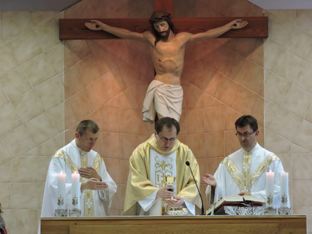 Súrodenci kňazi zľava Cyril, Kamil, Stanislav